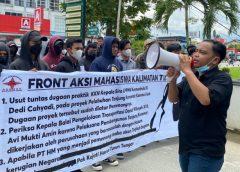 Diduga Ada Indikasi KKN, FAM Kaltim Gelar Aksi Demo Damai di Kejati Kaltim